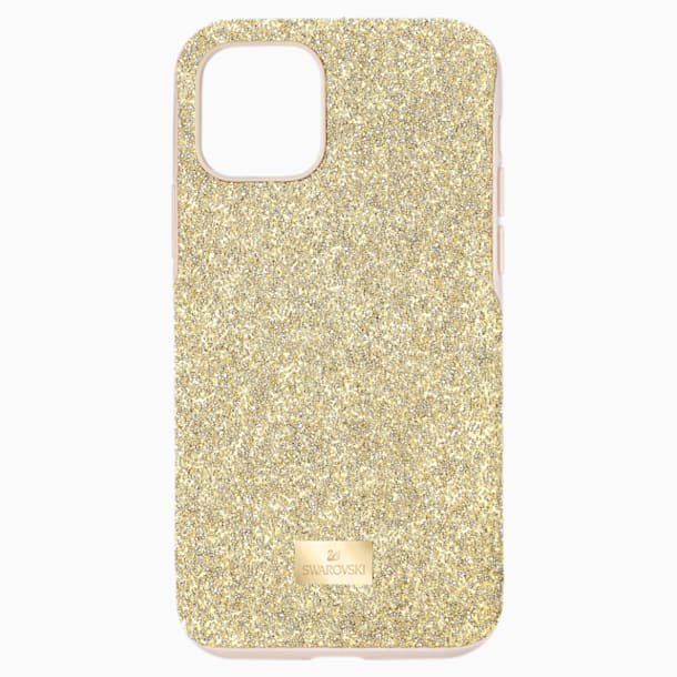스와로브스키 아이폰 11 Pro  케이스 Swarovski High Smartphone Case with Bumper, iPhone 11 Pro, Gold tone