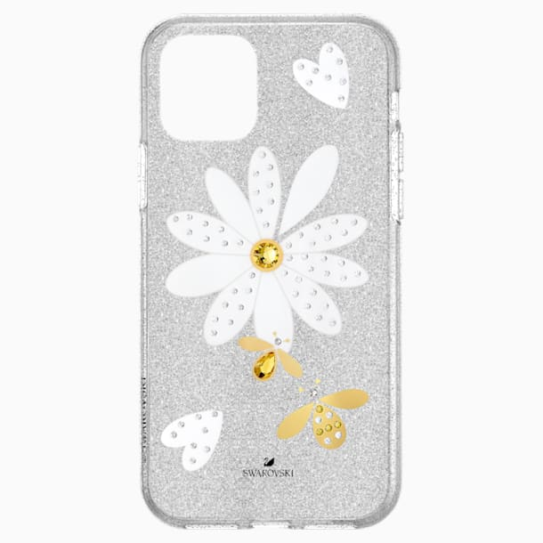 Eternal Flower Smartphone Case with Bumper, iPhone® 11 Pro, Light multi-colored - Swarovski, 5533968