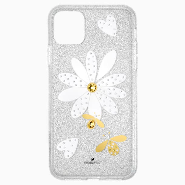 Eternal Flower Smartphone Case with Bumper, iPhone® 11 Pro Max, Light multi-colored - Swarovski, 5533980
