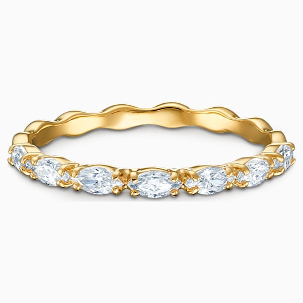 Bague Vittore Marquise, blanc, métal doré - Swarovski, 5535227