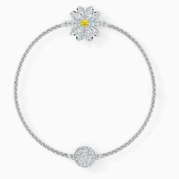 Swarovski Remix Collection Flower Strand, White, Rhodium plated - Swarovski, 5535252