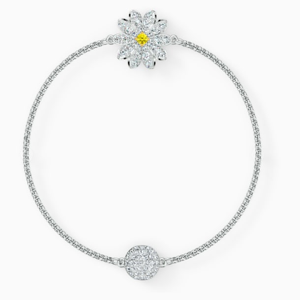 Swarovski Remix Collection Flower Strand, White, Rhodium plated - Swarovski, 5535299