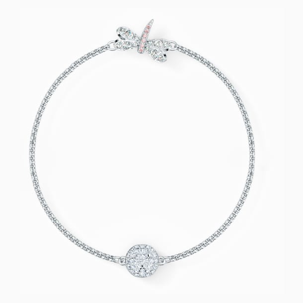 Swarovski Remix Collection Dragonfly Strand, White, Rhodium plated - Swarovski, 5535334