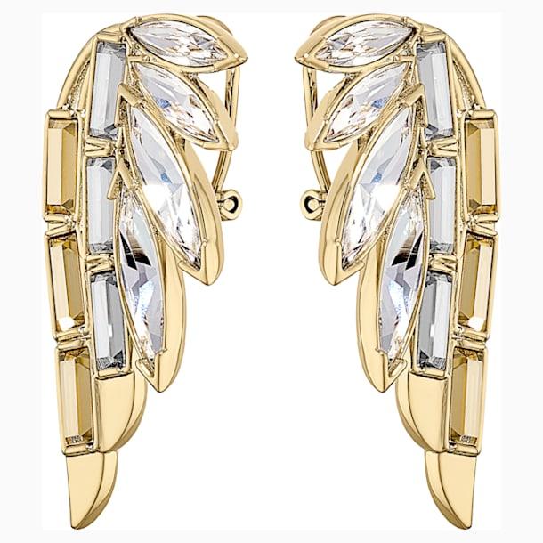 Wonder Woman 穿孔耳環, 金色, 鍍金色色調 - Swarovski, 5535589
