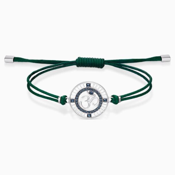 Sand Bracelet, Green, Stainless steel - Swarovski, 5535909