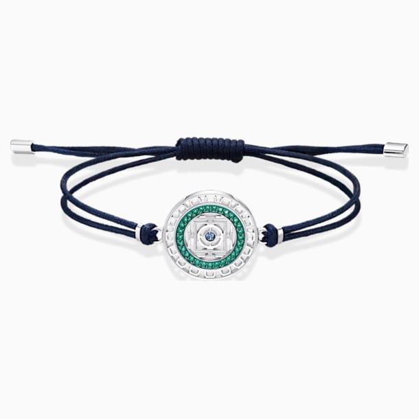 Sand-armband, Blauw, Roestvrij staal - Swarovski, 5535910