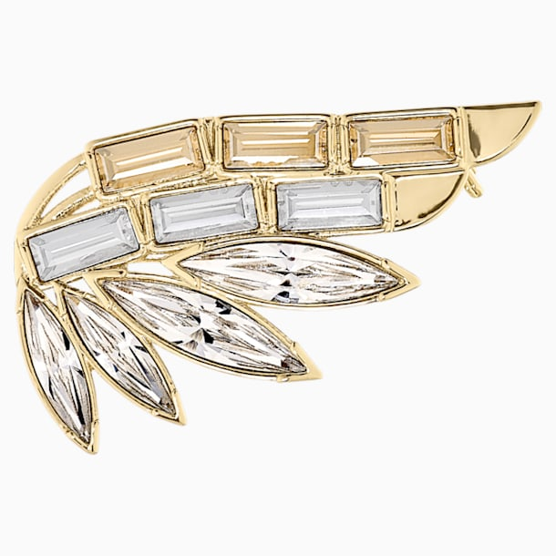 Wonder Woman Brooch, Gold tone, Gold-tone plated - Swarovski, 5535917