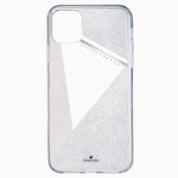 Pouzdro na chytrý telefon Subtle s ochranným okrajem, iPhone® 11 Pro, stříbrné - Swarovski, 5536847