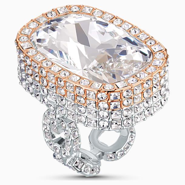 Eternal gyűrű, fehér, vegyes fémbevonattal - Swarovski, 5538823