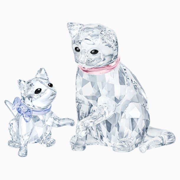 Conjunto online Familia de gatos - Swarovski, 5539247