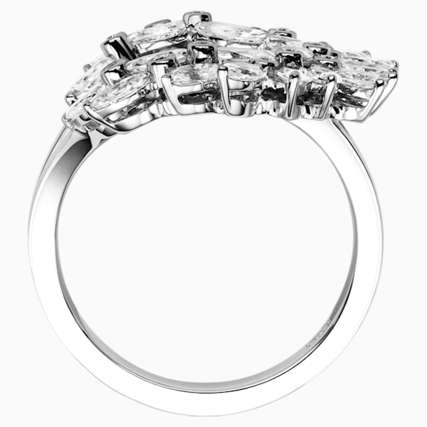 Luna Ring, 18K White Gold, Size 55 - Swarovski, 5539741