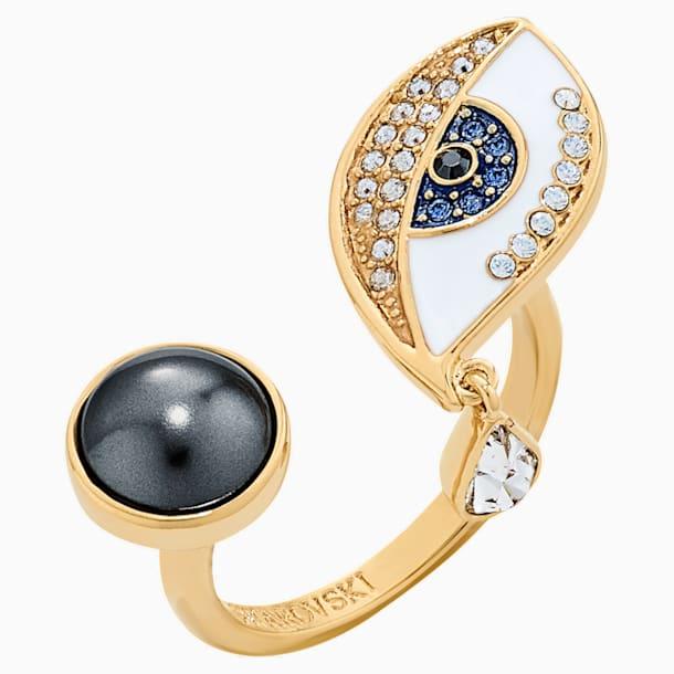 Surreal Dream Ring, Auge, blau, vergoldet - Swarovski, 5540653