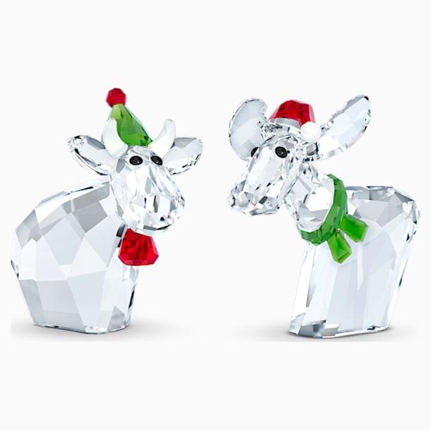 Mo en Ricci in kerststijl, Jaarlijkse editie 2020 - Swarovski, 5540695