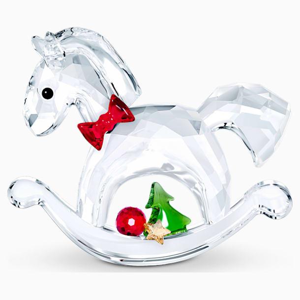 Koń na biegunach – ozdoba świąteczna - Swarovski, 5544529