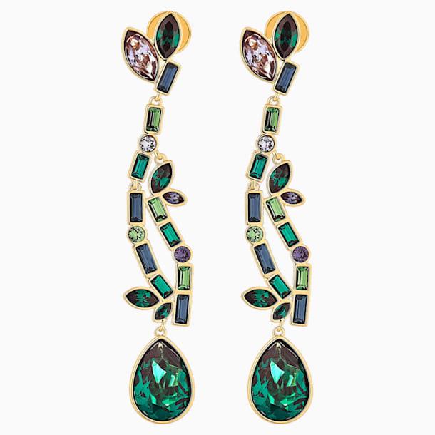 Boucles d'oreilles Beautiful Earth, Multicolore, métal doré - Swarovski, 5545991