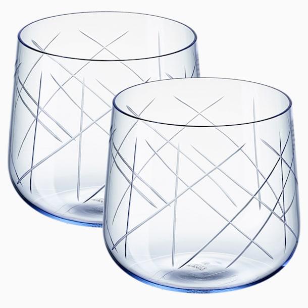 Nest Gläser-Set (2 St.), blau - Swarovski, 5548167