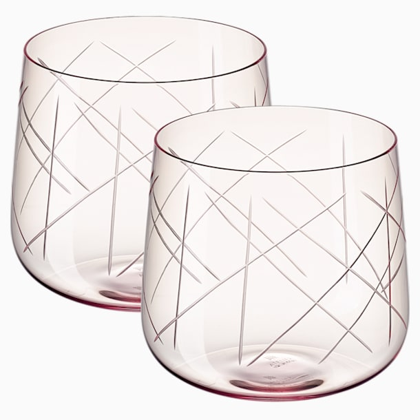 Ensemble de verres (2) Nest, rose - Swarovski, 5548169