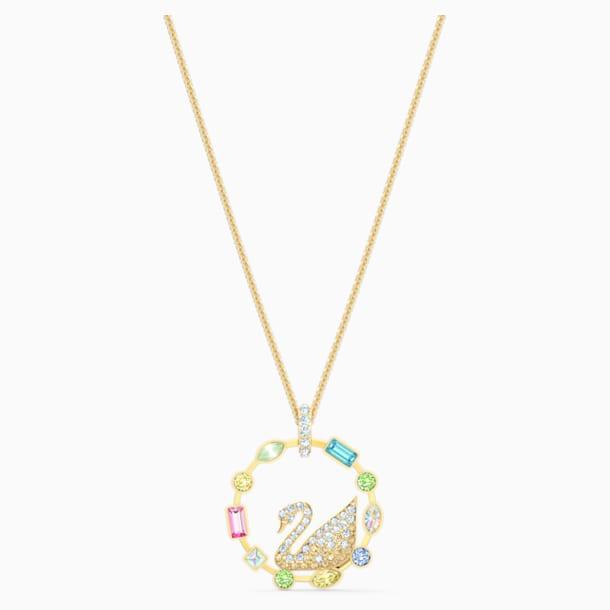 Rainbow Swan ネックレス - Swarovski, 5549050