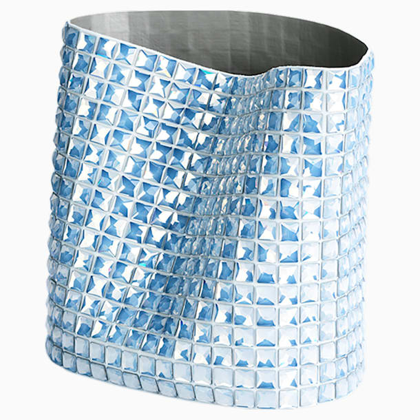 Brillo Vessel, Small, White - Swarovski, 5550451