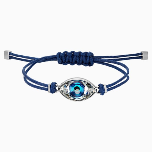 Swarovski Power Collection Evil Eye Браслет, Синий Кристалл, Нержавеющая сталь - Swarovski, 5551804