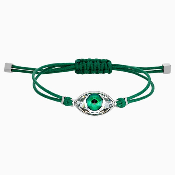 Swarovski Power Collection Evil Eye Bracelet, Green, Stainless steel - Swarovski, 5551805
