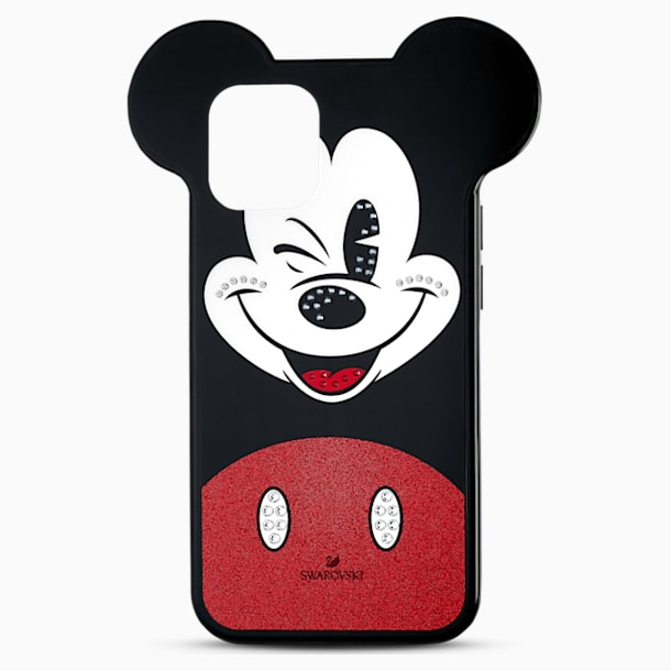 Custodia per smartphone Mickey, iPhone® 12/12 Pro, multicolore - Swarovski, 5556465