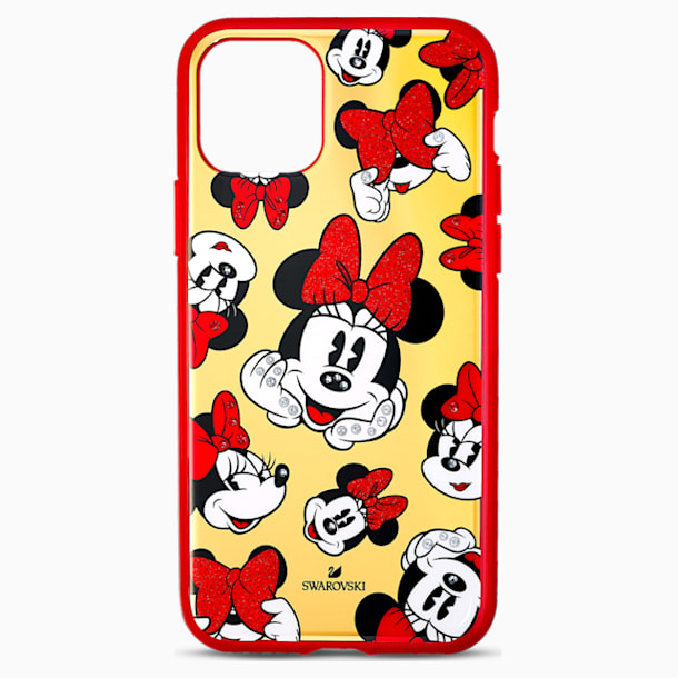Custodia per smartphone con bordi protettivi Minnie, iPhone® 11 Pro - Swarovski, 5556531