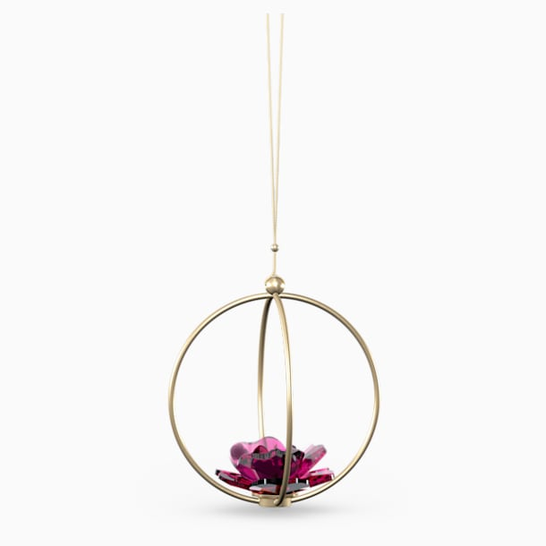 Garden Tales-玫瑰球形掛飾, 大 - Swarovski, 5557805
