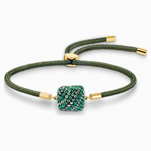 Braccialetto Swarovski Power Collection Earth Element, verde, placcato color oro - Swarovski, 5558350