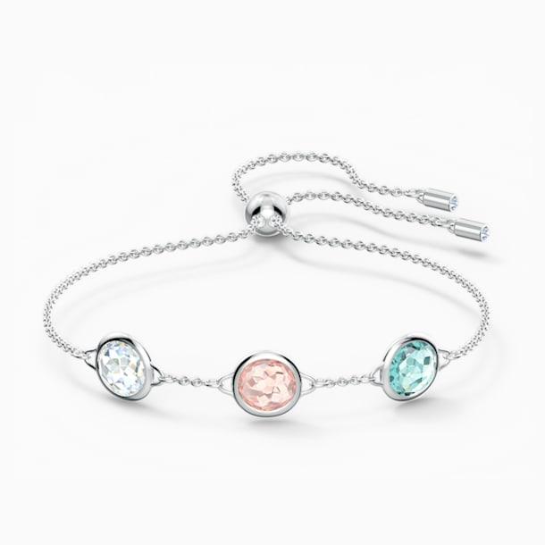 Tahlia Bracelet, Multicolored, Rhodium plated - Swarovski, 5560937