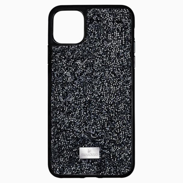 Glam Rock Smartphone case, iPhone® 12 Pro Max, Black - Swarovski, 5565177