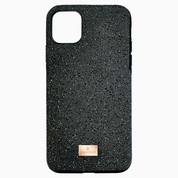 High okostelefon tok, iPhone® 12 Pro Max, fekete - Swarovski, 5565180