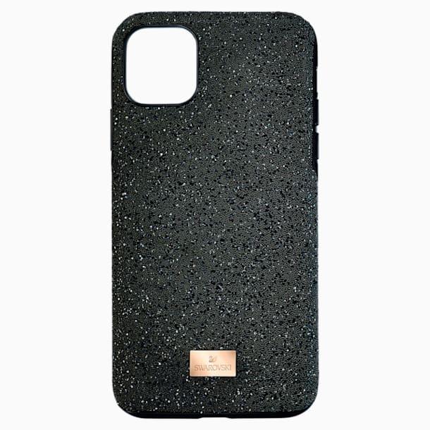 High Smartphone case, iPhone® 12 mini, Black - Swarovski, 5565180
