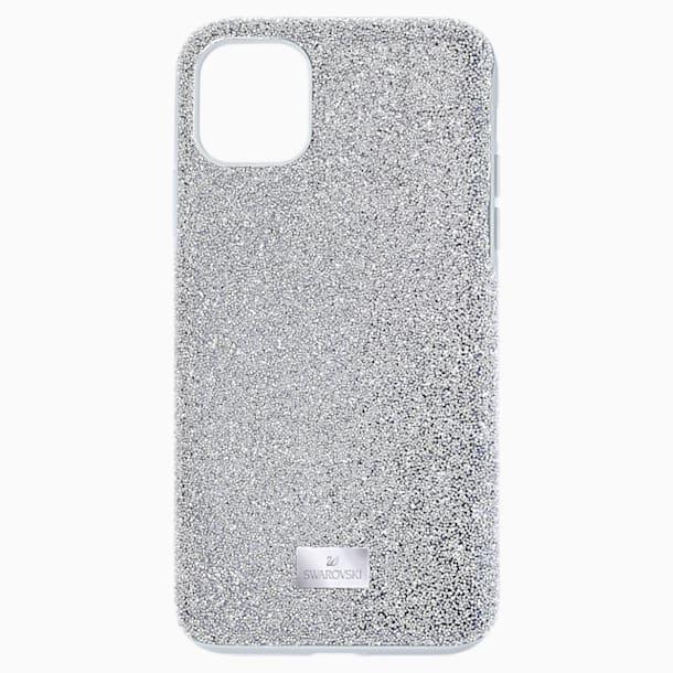 Custodia per smartphone High, iPhone® 12/12 Pro, tono argentato - Swarovski, 5565202
