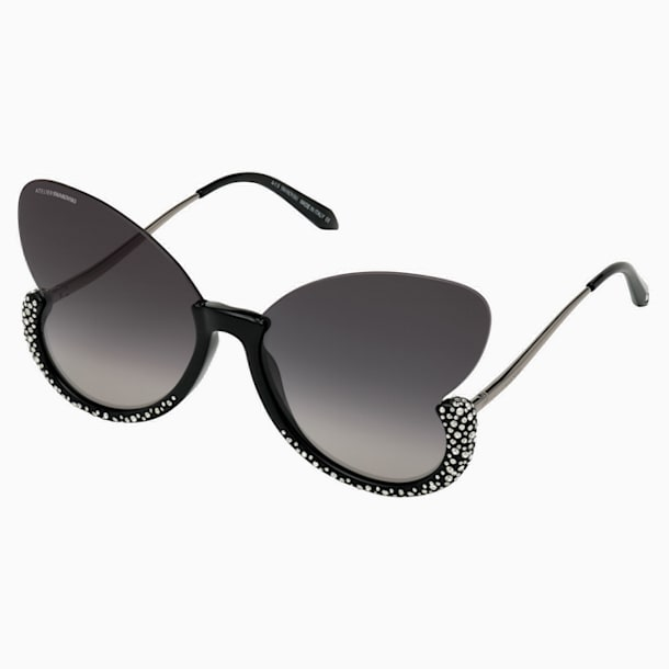 Moselle Sonnenbrille, Schmetterling, SK0270-P, schwarz - Swarovski, 5565212
