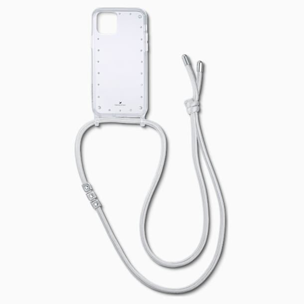 Swarovski Smartphone Necklace Case with Bumper, iPhone® 11 Pro Max, White - Swarovski, 5566951