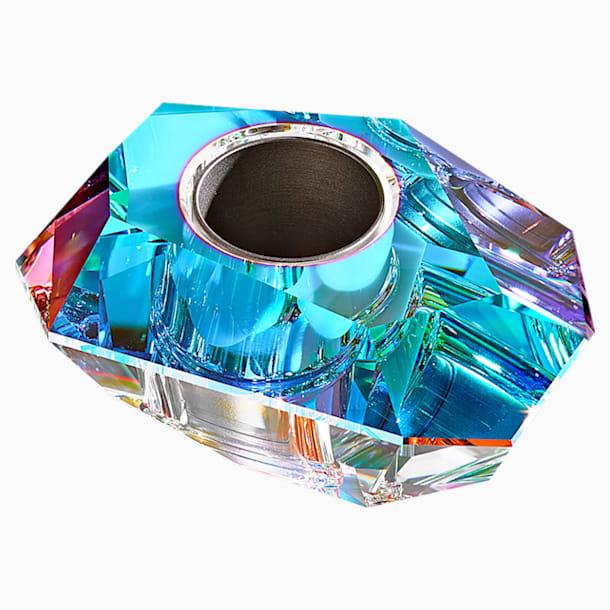 Lustra Candleholder, Small, Aurora Borealis - Swarovski, 5567597