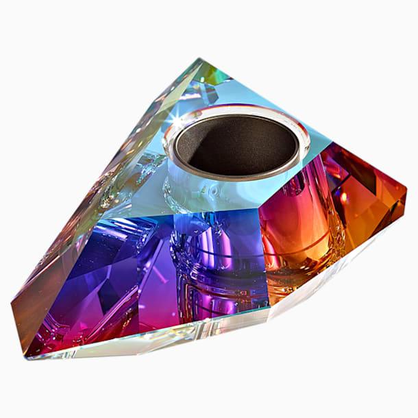 Candleholder, Aurora Borealis - Swarovski, 5567598