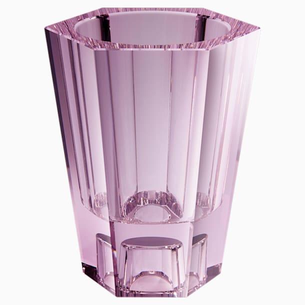 Vase réversible Lumen, large, rose - Swarovski, 5567985