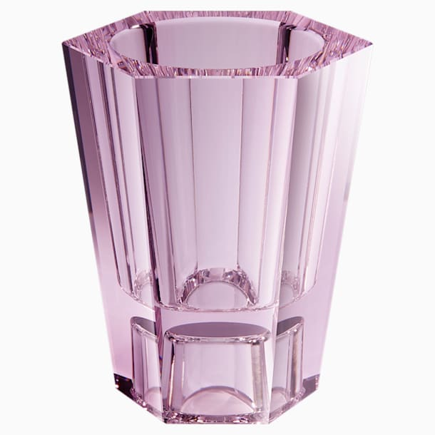 Lumen Reversible Vase, Medium, Pink - Swarovski, 5567989