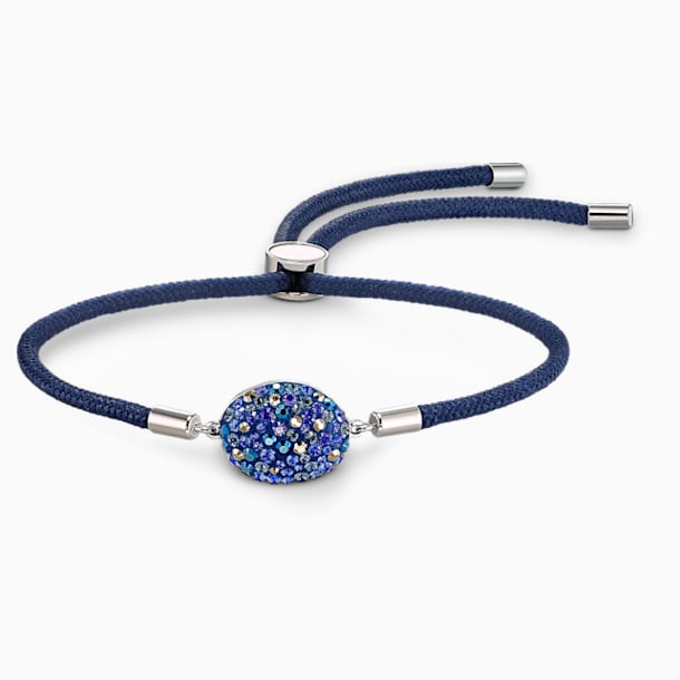 Braccialetto Swarovski Power Collection Water Element, blu, acciaio inossidabile - Swarovski, 5568270