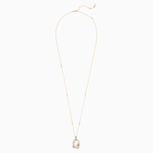 Tigris Подвеска, Оттенок золота Кристалл, Покрытие оттенка золота - Swarovski, 5569106