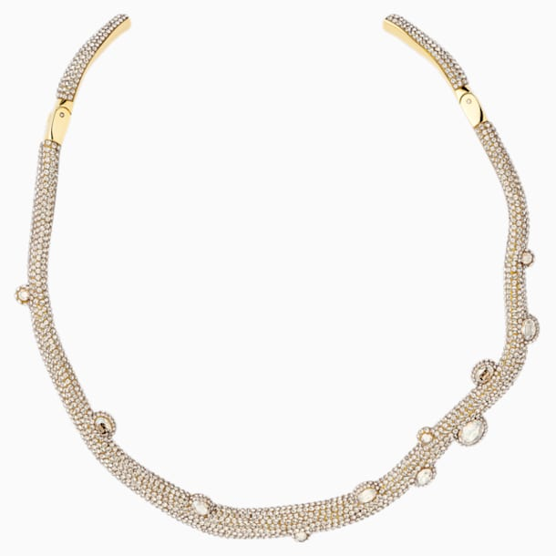 Collier torque Tigris, ton doré, métal doré - Swarovski, 5569140