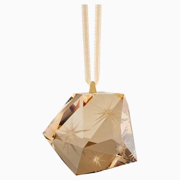 Daniel Libeskind Eternal Star Multi Hanging Ornament, Gold tone - Swarovski, 5569383