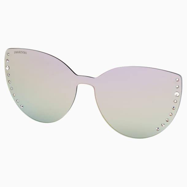 Nakładki na okulary przeciwsłoneczne Swarovski, SK5389-CL 16Z, fioletowe - Swarovski, 5569399