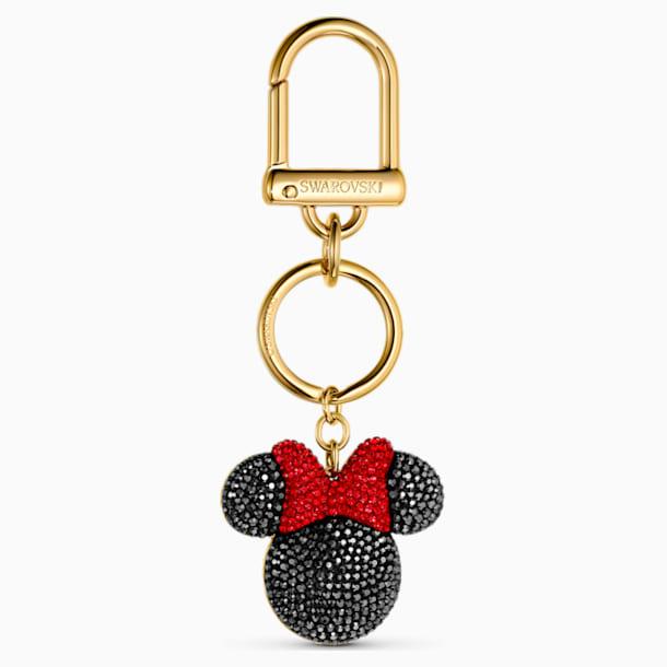 Accesorio para bolso Minnie, negro, baño tono oro - Swarovski, 5572567