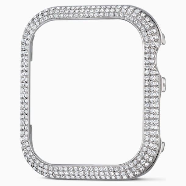 40 mm Sparkling Apple Watch ®용 케이스, 실버 톤 - Swarovski, 5572573
