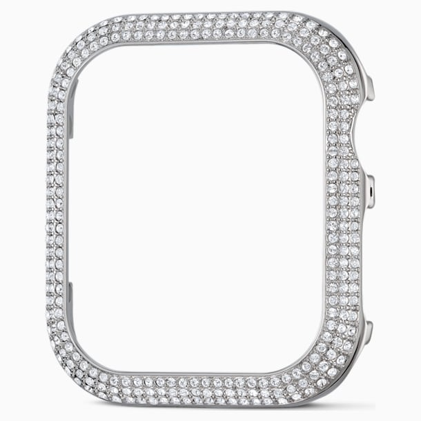 40 mm Sparkling horlogekast compatibel met Apple Watch®, Zilverkleurig - Swarovski, 5572573