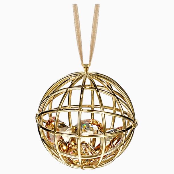 Icons of Entertainment Hanging Ornament, Gold tone - Swarovski, 5572957