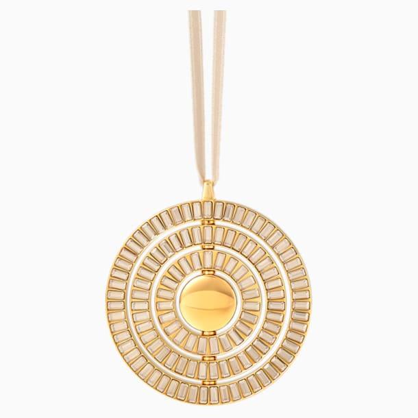 Icons of Design Hanging Ornament, Gold tone - Swarovski, 5572958